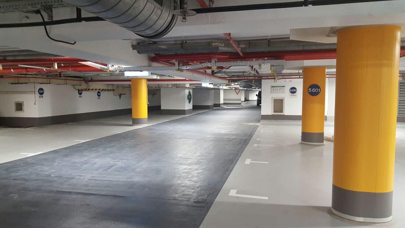 parking garages