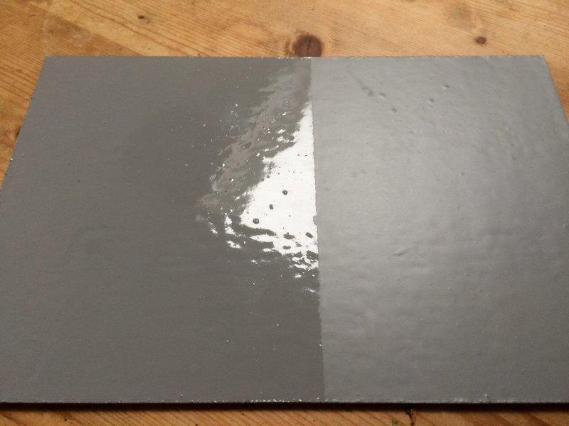 PUROC TR mat, a waterborne coat of transparent polyurethane with a matt finish
